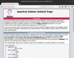 Apache2 Debian Default Page: It works - Mozilla Firefox_113
