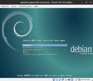 Debian 8 - Installation - 1