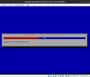 Debian 8 - Installation - Chargement de composants supplémentaires