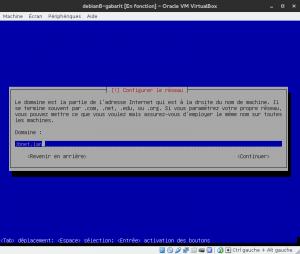 Debian 8 - Installation - Domaine