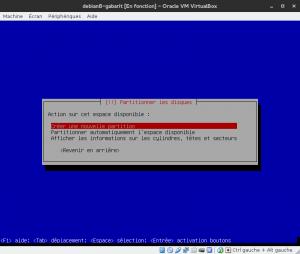 Debian 8 - Installation - Partitionnemer les disques - Créer une nouvelle partition