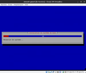 Debian 8 - Installation - Installation du système de base