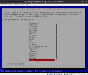 Debian 8 - Installation - Dépôts