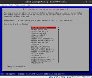Debian 8 - Installation - Dépôt serveur