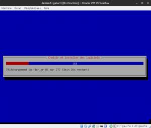 Debian 8 - Installation - Installation des logiciels