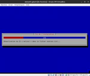 Debian 8 - Installation - Fin