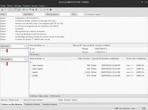 Debian 8 - vsFTPd - Connexion FileZilla chroot