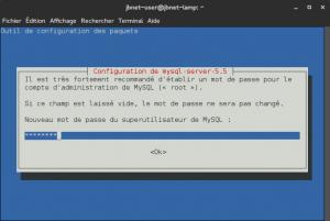 Debian 8 - MySQL - Mot de passe root