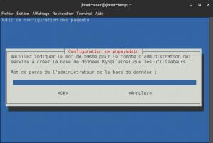 Debian 8 - phpMyAdmin - Accès administrateur