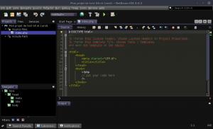 NetBeans - Mon projet de test Git et 1and1