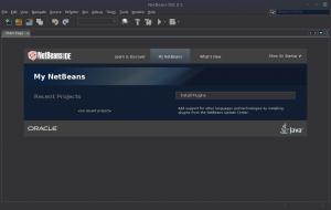 NetBeans IDE 8.1 Dark