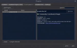 NetBeans 8.1 - Plugins Praxis Live