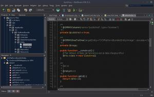 Symfony - NetBeans IDE 8.1