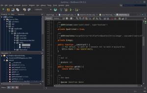 Symfony - NetBeans IDE 8.1 - Font Hack