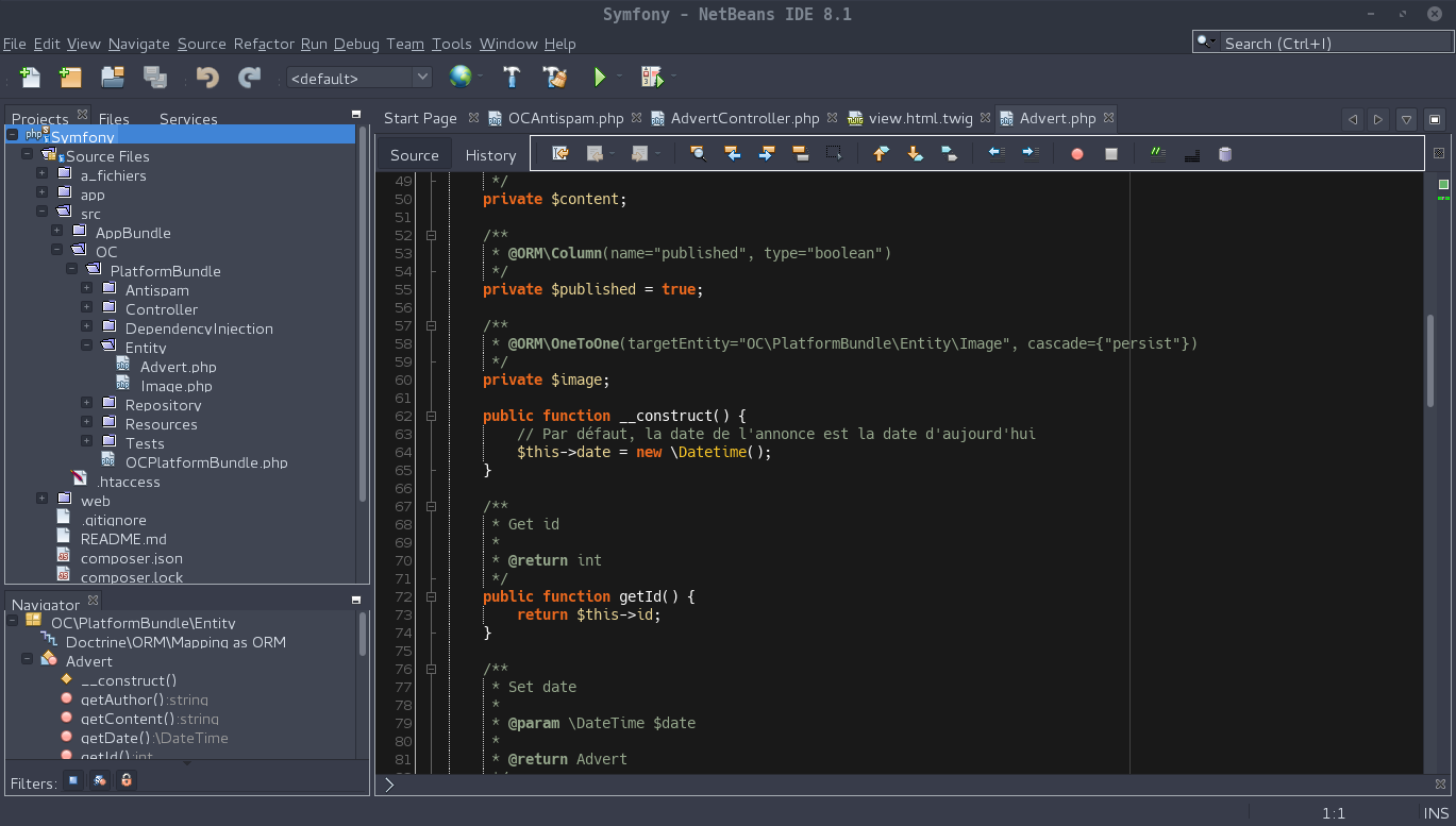coloration syntaxique netbeans